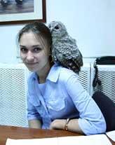 Анисимова Наталья Николаевна Врач-орнитолог клиники Зеленый Попугай